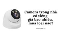 Camera trong nhà có tiếng giá bao nhiêu, mua loại nào?
