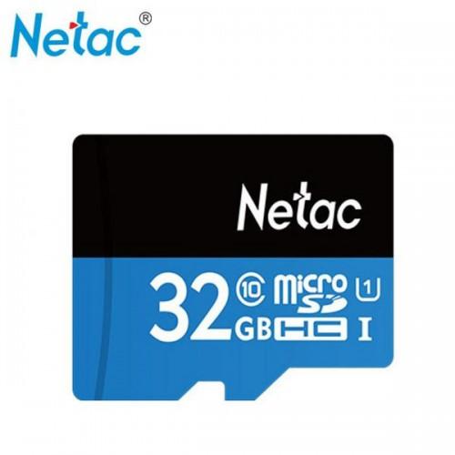 Thẻ Nhớ 32GB Netac – Thẻ Nhớ Chuẩn Class 10, Bảo Hành 5 Năm