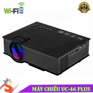 Máy Chiếu Không Dây UC46 Plus LCD - Cường Độ Sáng 1200 Lumens