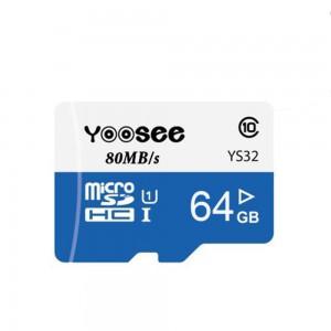 Thẻ Nhớ Camera Yoosee 64GB, Tốc Độ Đọc Class 10 (Bảo Hành 5 Năm)