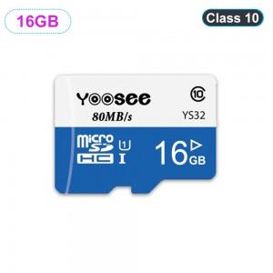 Thẻ Nhớ Camera Yoosee 16GB, Tốc Độ Đọc Class 10 (Bảo Hành 5 Năm)
