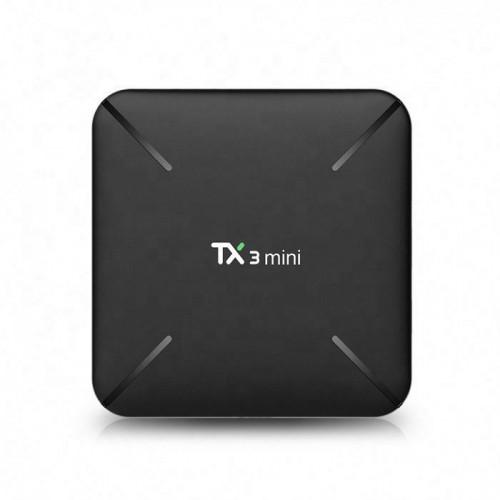 Android TV Box Tanix TX3 Mini-H - Cấu Hình Ram 2GB, Rom 16GB, Android TV Box Giá Rẻ