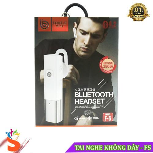 Tai Nghe Bluetooth Boliduo F5 - Tai Nghe Chính Hãng