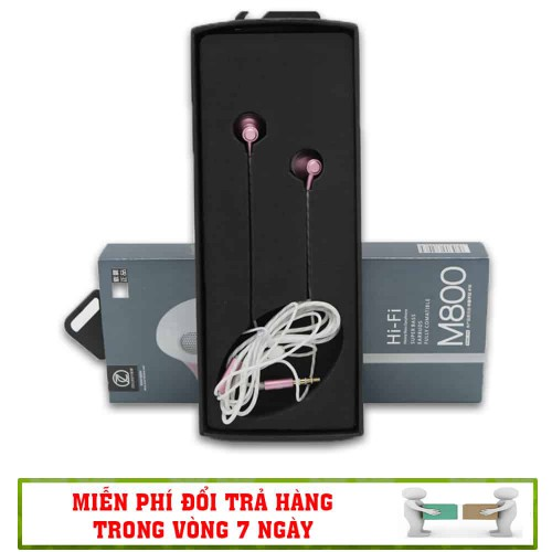 Tai Nghe Nhét Tai Hi-Fi M800 – Supper Bass