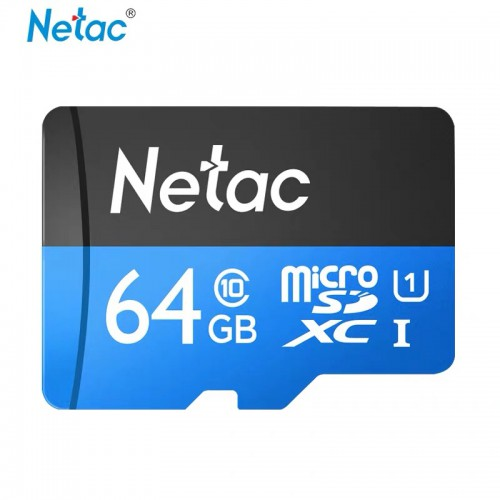 Thẻ Nhớ 64GB Netac - Bảo Hành 5 Năm - Miễn Phí Đổi Trả Trong 7 Ngày
