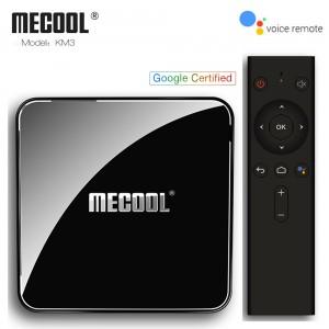 Android TV Box Mecool KM3 – Rom ATV – Điều Khiển Hỗ Trợ Tìm Kiếm Bằng Giọng Nói