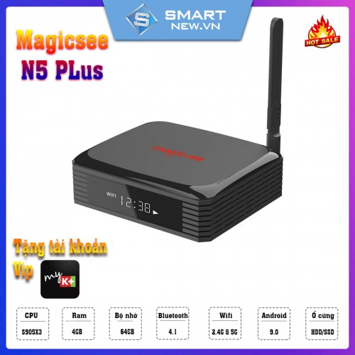 Android TV Box Magicsee N5 Plus - 4GB RAM