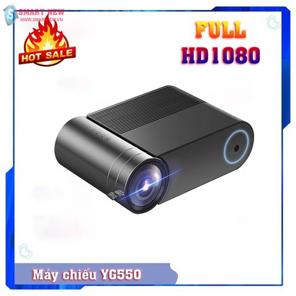 Máy chiếu mini YG550 Full HD1080 - Máy chiếu mini gia đình tốt nhất