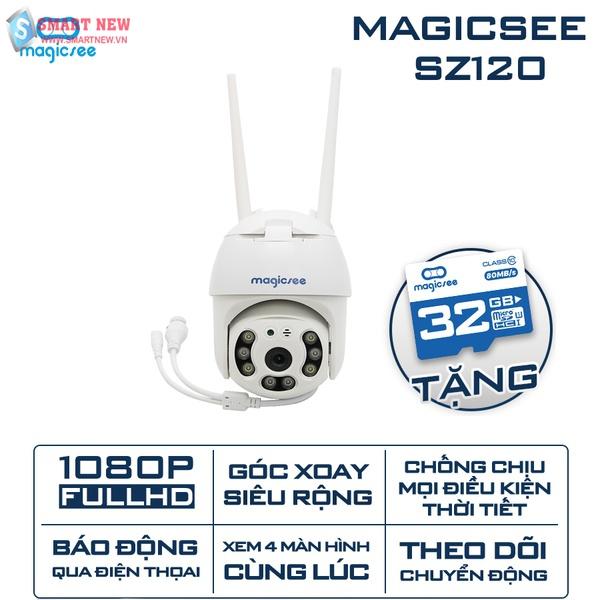 Camera giám sát ngoài trời Magicsee ZS120