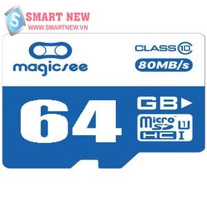 Thẻ Nhớ Magicsee 64GB Tốc Độ Đọc Class 10