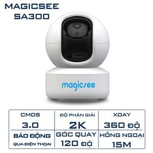 Camera giám sát Magicsee SA300 Cmos 3.0 Độ phân giải 2K