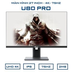 Màn hình 27 inch 4K ATAS U80 Pro - Tấm nền IPS