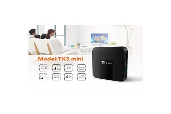Mở Hộp Sản Phẩm Android TV Box TX3 Mini
