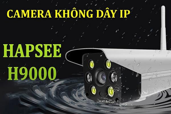 Camera Không Dây Hapsee H9000 Và Cách Kết Nối Với Điện Thoại