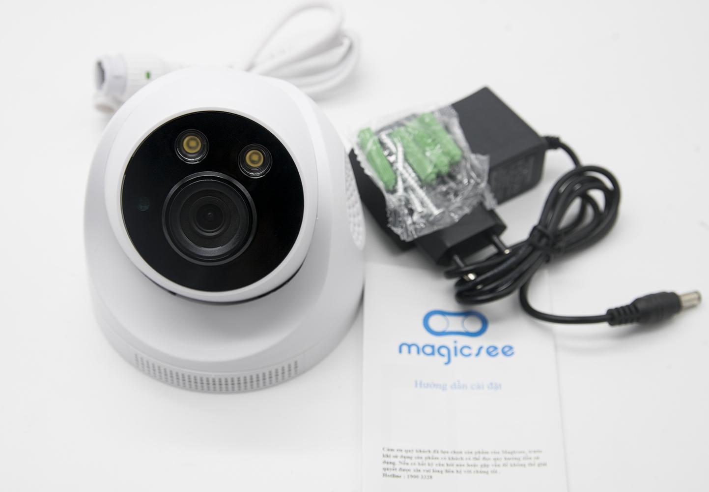 Camera giám sát không dây Magicsee S6900 Full HD1080 4