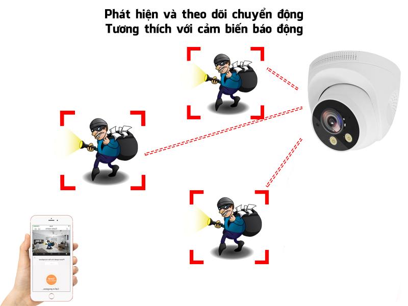 Camera giám sát không dây Magicsee S6900 Full HD1080 3