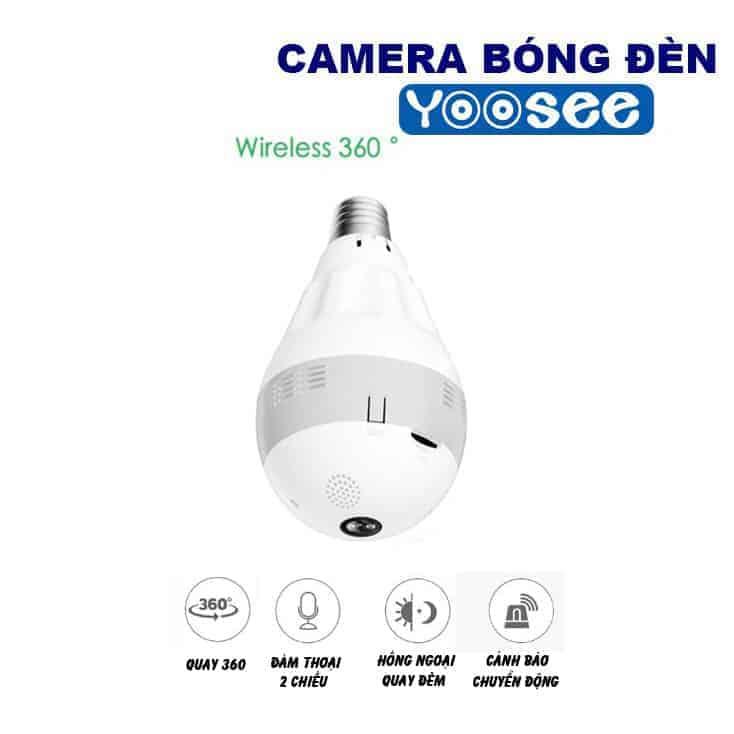 Camera Giám Sát Yoosee Bóng Đèn VR960 9