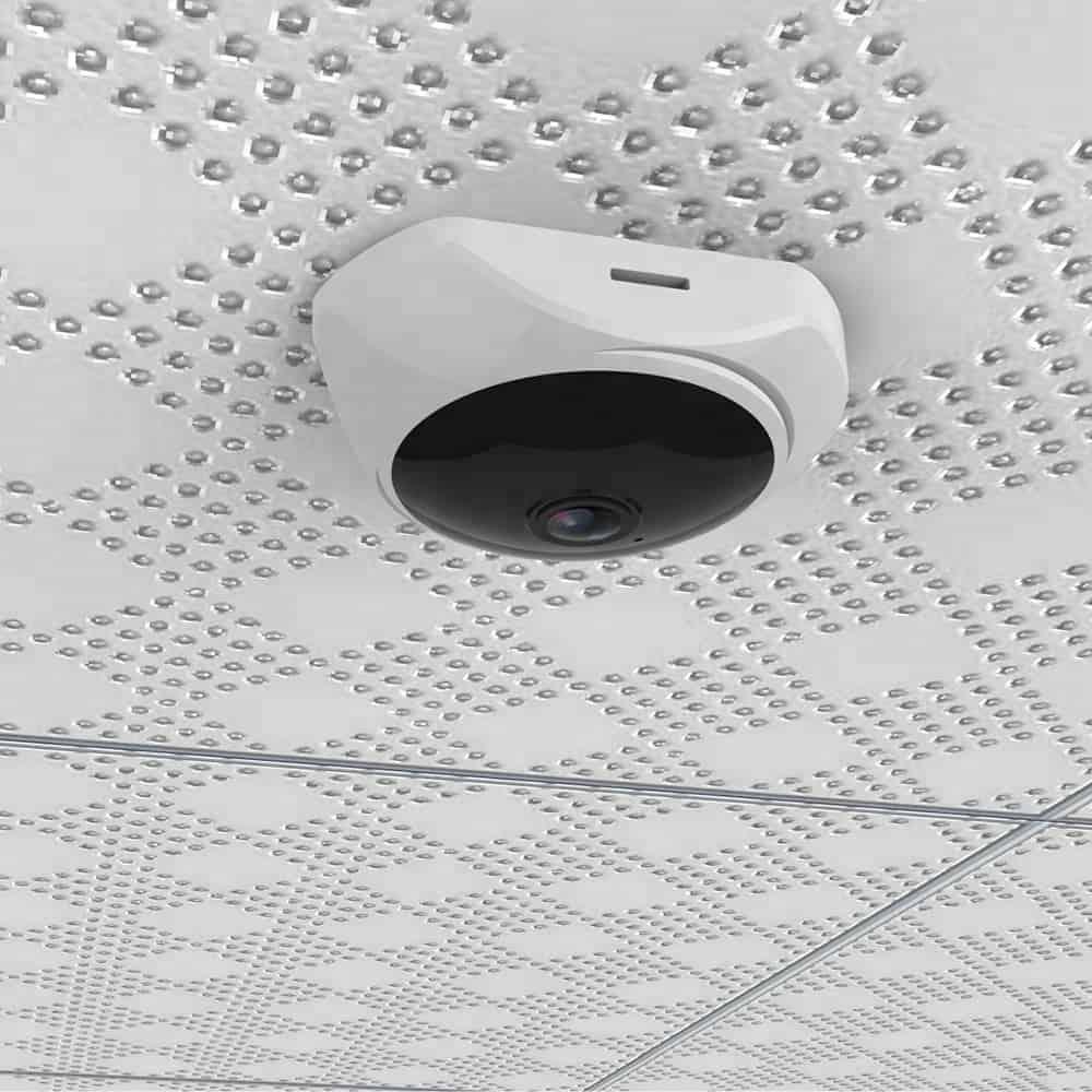 Camera Giám Sát Yoosee Mini Ốp Trần, Tường VR360 - camera wifi ốp trần vr360 mini yoosee 5