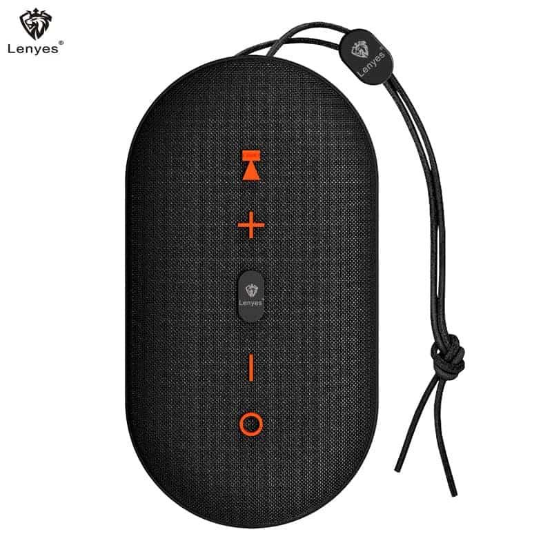 Loa Bluetooth Chống Thấm Lenyes S802 – Loa Bluetooth Cầm Tay   9