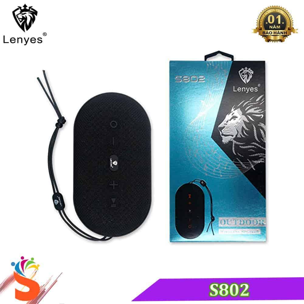 Loa Bluetooth Chống Thấm Lenyes S802 – Loa Bluetooth Cầm Tay   2