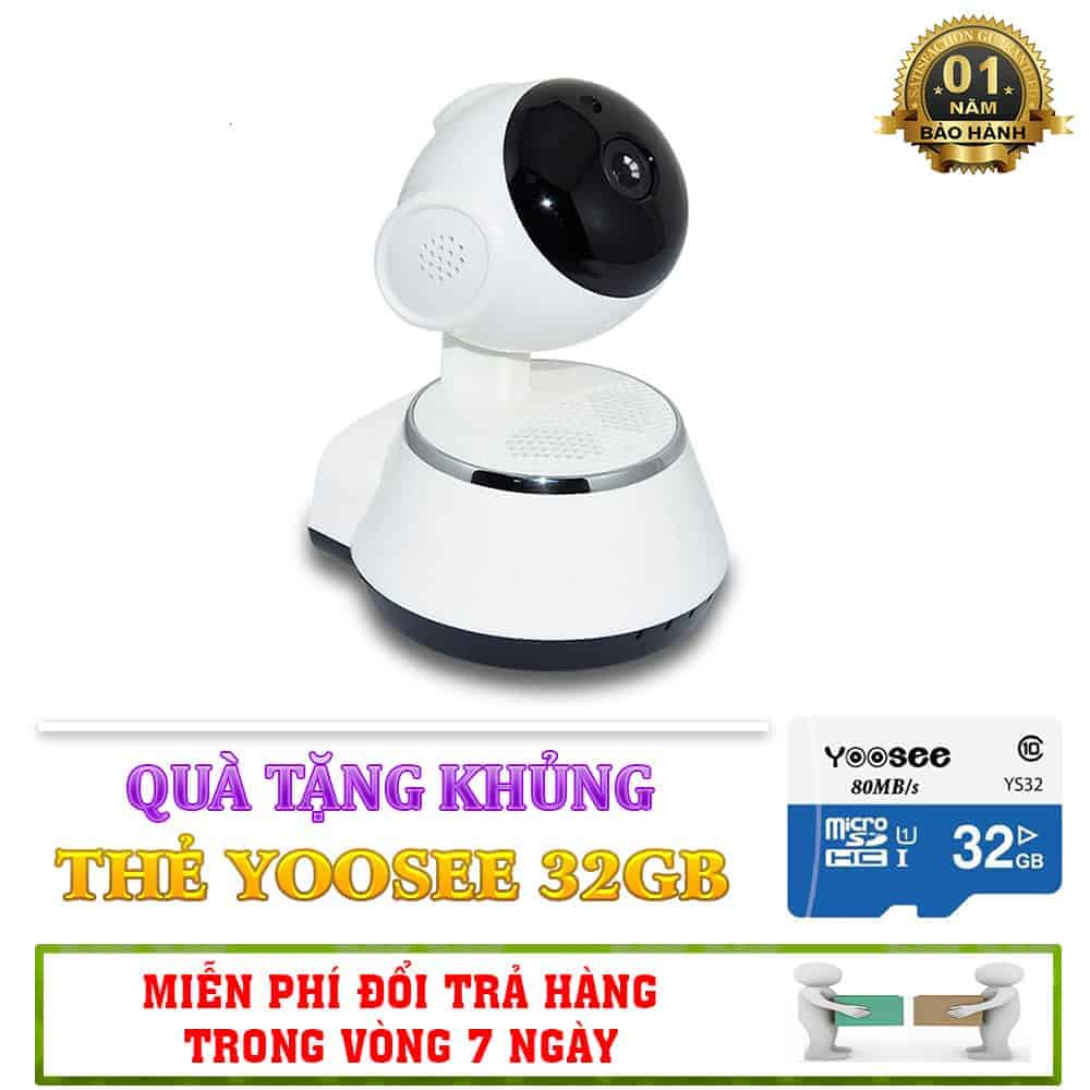 Combo Camera Giám Sát Thông Minh IP V380 – Tặng Kèm Thẻ Nhớ 2