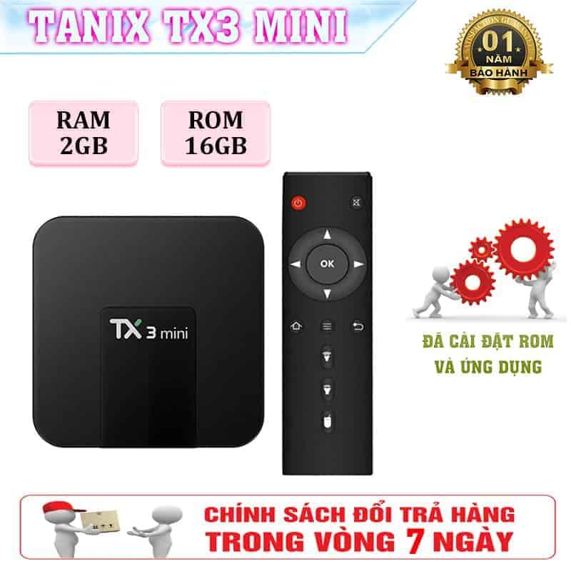 Tx3 Mini - Android TV Box Ram CPU S905 - Ram 2GB - ROM 16GB 1