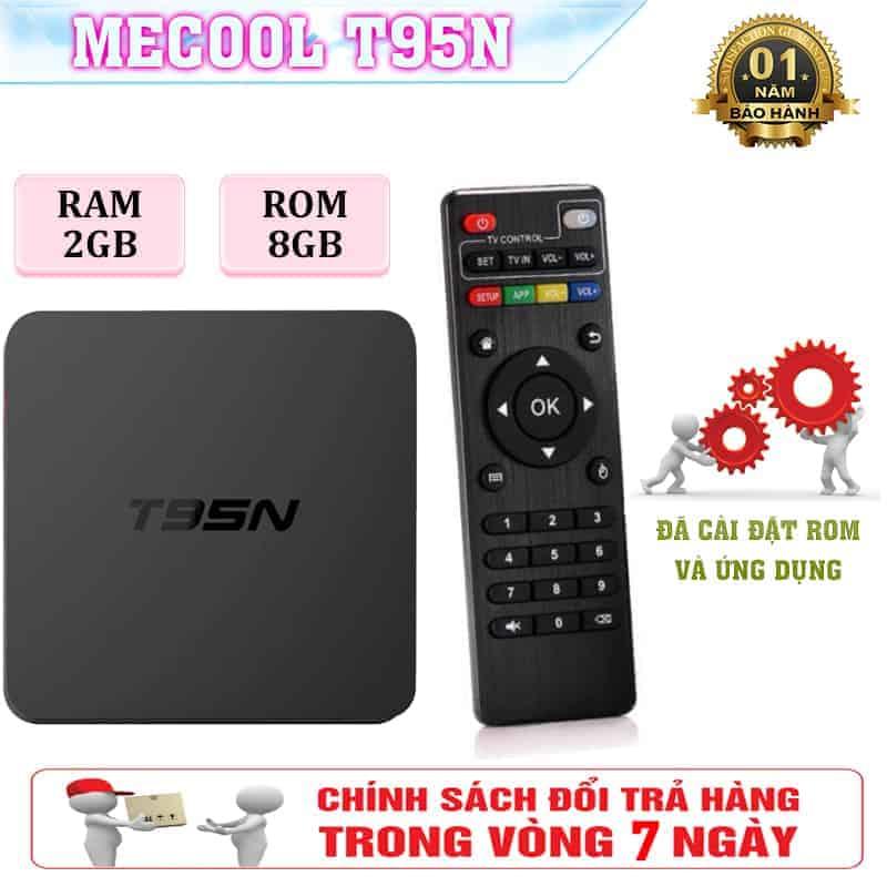Android Tivi Box T95N, RAM 2GB, ROM 8GB - TIVI BOX GIÁ RẺ 3
