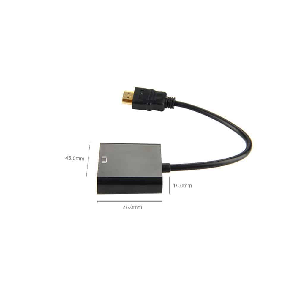 Cáp Chuyển Đổi HDMI Sang VGA (Chuyển Đổi Cả Âm Thanh Và Hình Ảnh) 7