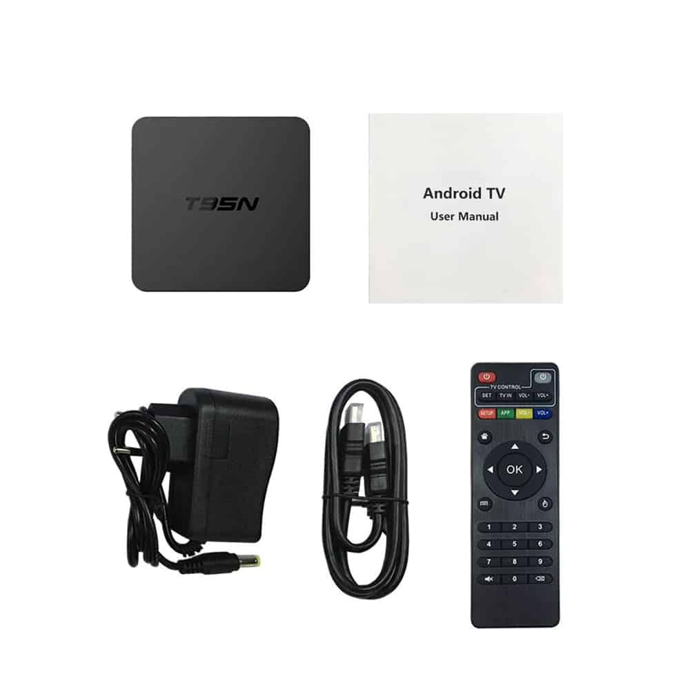 Android Tivi Box T95N, RAM 2GB, ROM 8GB - TIVI BOX GIÁ RẺ 10