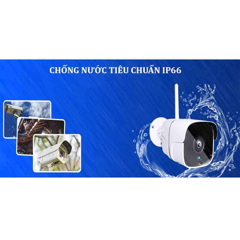 Camera Yoosee 2 Râu Ngoài Trời S200M – Mắt Camera 2.0 MP 5