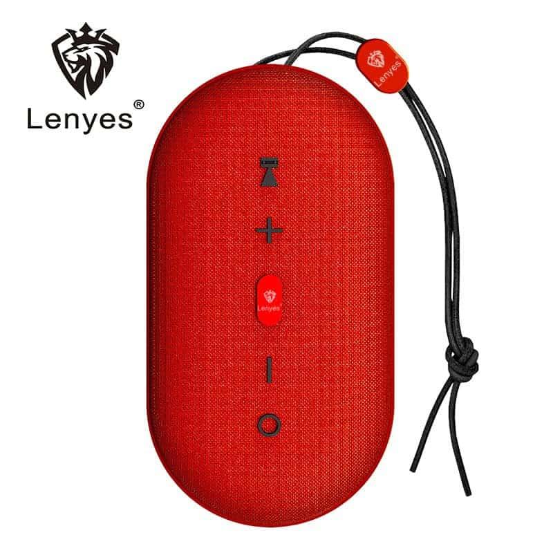 Loa Bluetooth Chống Thấm Lenyes S802 – Loa Bluetooth Cầm Tay   7