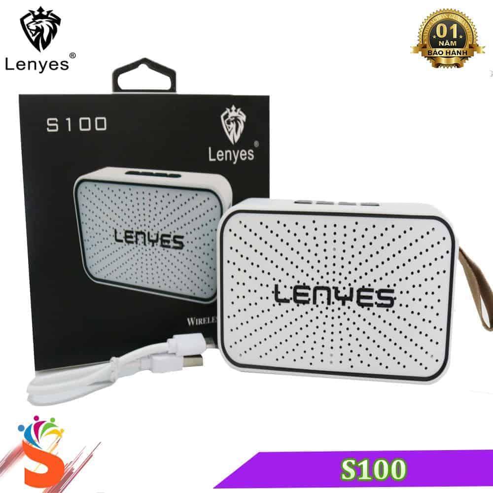 Loa Bluetooth Lenyes S100 – Loa Chống Nước Tiêu Chuẩn 3
