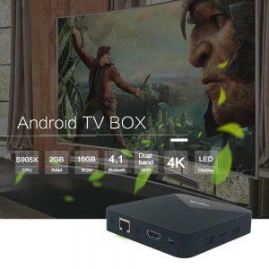 Android Tivi Box Magicsee N5 Dual Wifi Ram 2GB - Rom ATV 4