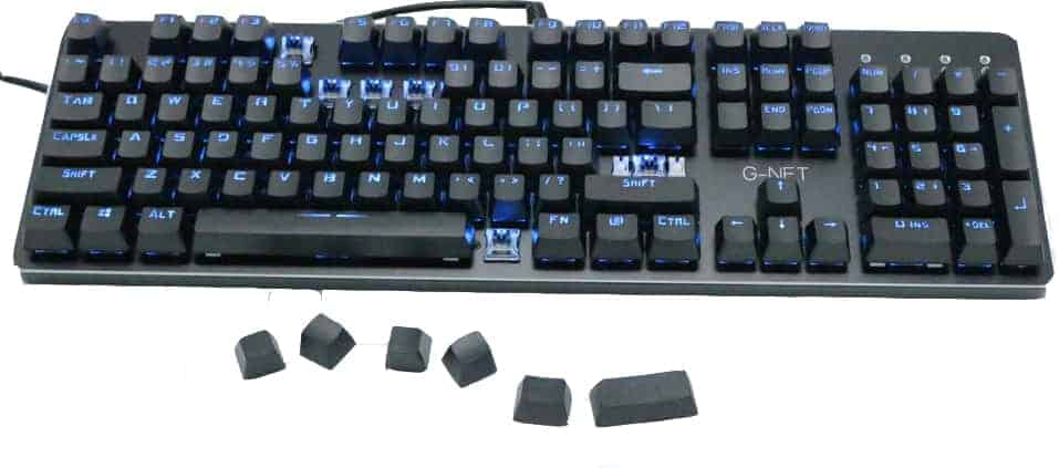 Bàn Phím Cơ G-Net LK718 Blue Switch - Phiên Bản Led Đổi Màu 1