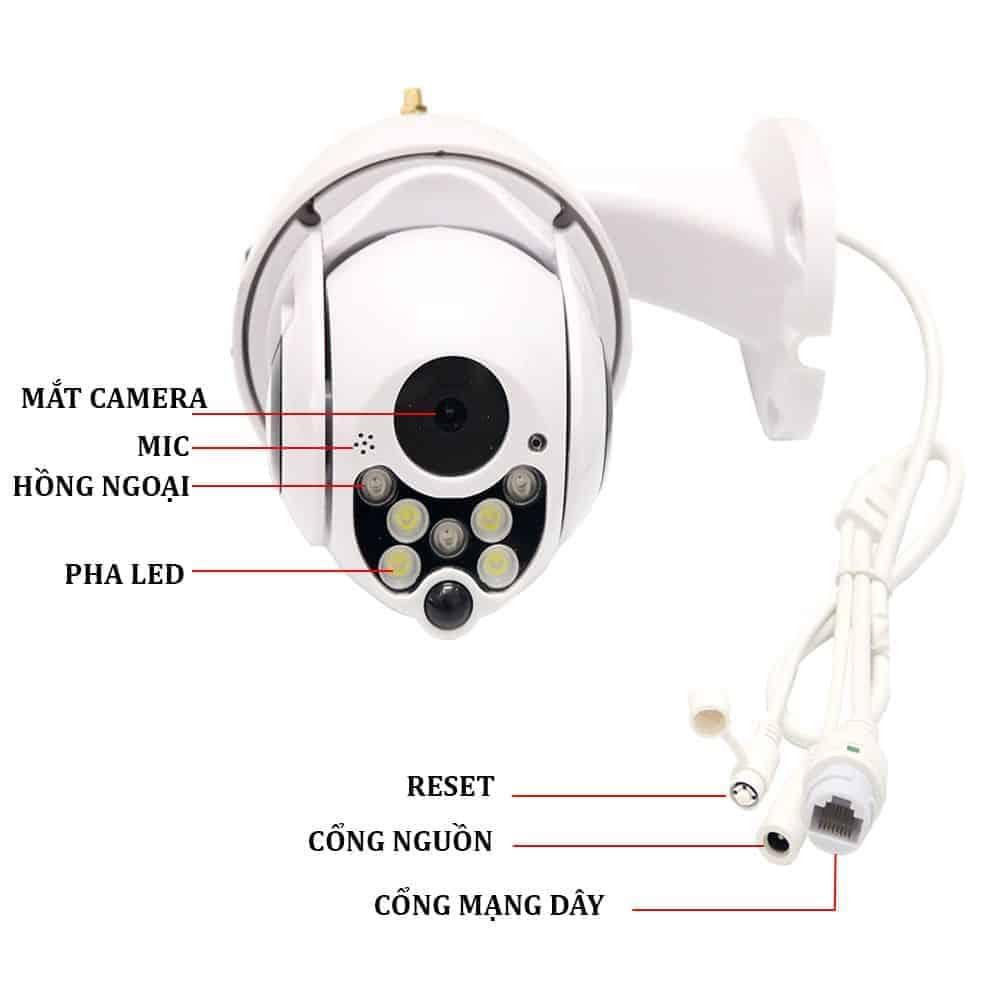 Camera Ngoài Trời Robot Yoosee X2000 – Thiết Kế Độc Đáo 3