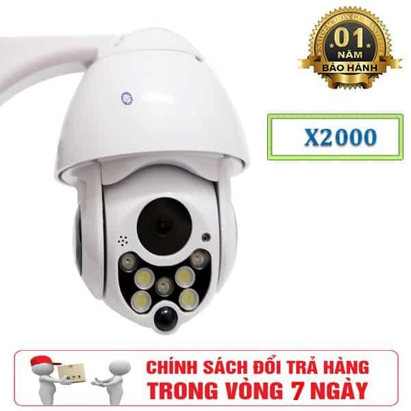 Camera Ngoài Trời Robot Yoosee X2000 – Thiết Kế Độc Đáo 2