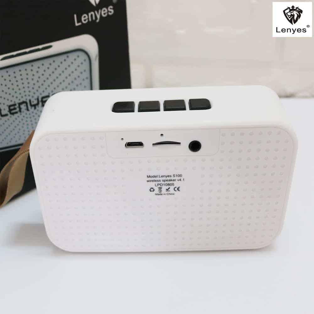 Loa Bluetooth Lenyes S100 – Loa Chống Nước Tiêu Chuẩn 5