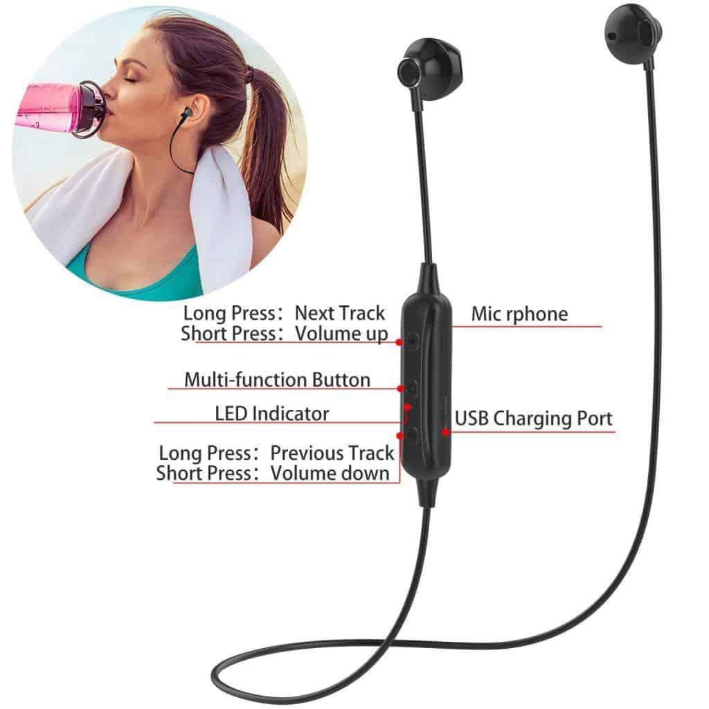 Tai nghe Bluetooth không dây Lenyes A15