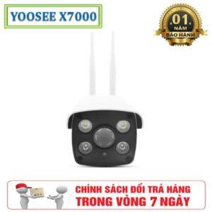 Camera Giám Sát Không Dây Ngoài Trời Yoosee 2 Râu X7000 1.0M