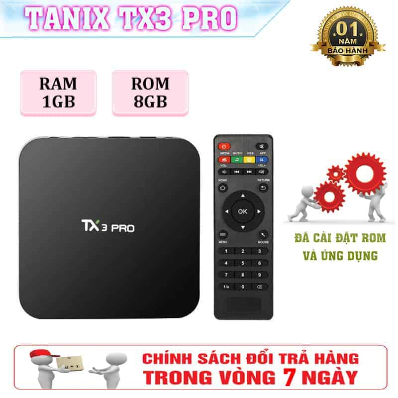Androi Tivi Box phiên bản Pro giá cực sốc