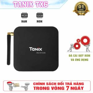 Android TV Box Tanix TX6 - Android 9.0, AllWinner H6, Quad core CPU - TX6
