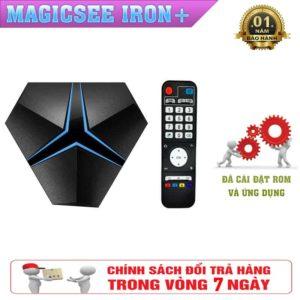 Tivi box Magicsee Iron+ Biến Tivi Nhà Bạn Thành SmartTivi