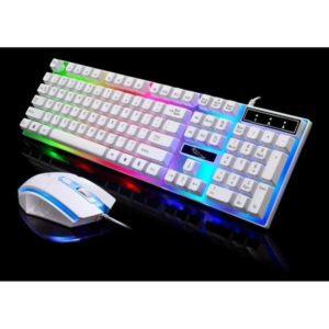 Combo Bàn Phím + Chuột Gaming G21 LED 7 Màu