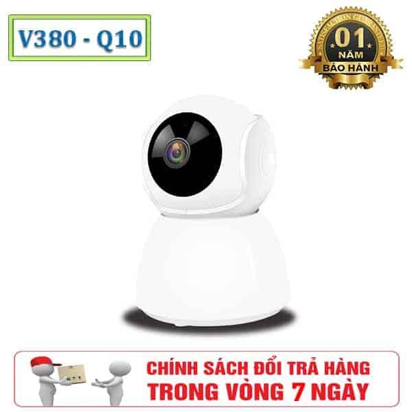Camera Giám Sát WIFI V380 Q10 Ăng-Ten Ngầm