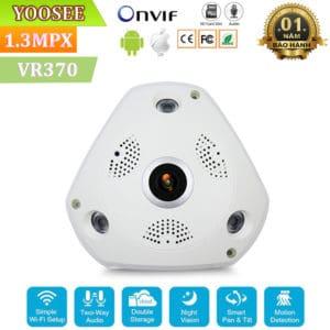 Camera Ốp Trần, Tường Wifi Yoosee VR370 – Camera Giám Sát Thế Hệ Mới 3