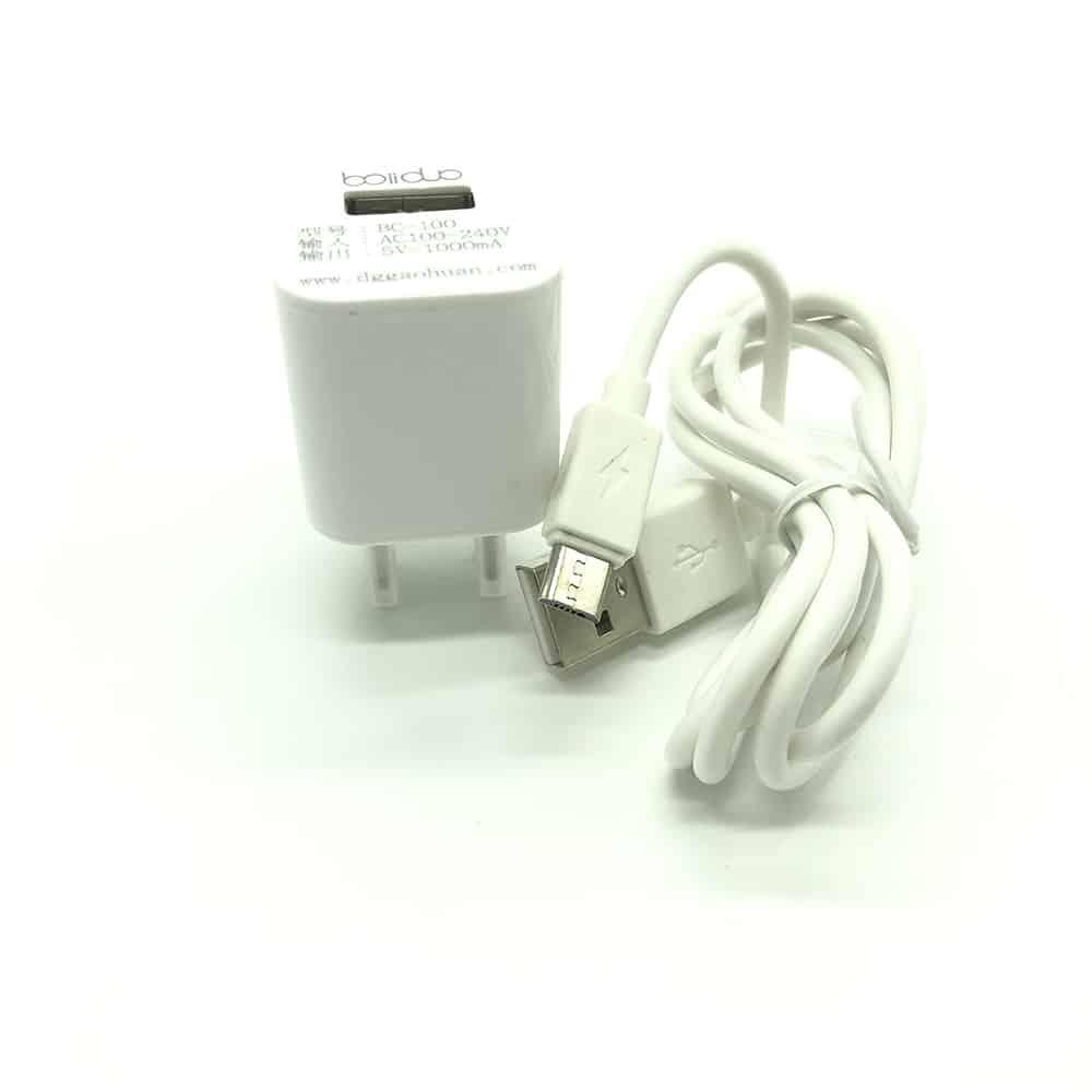Bộ sạc Bolidou chính hãng kèm cáp sạc Micro USB