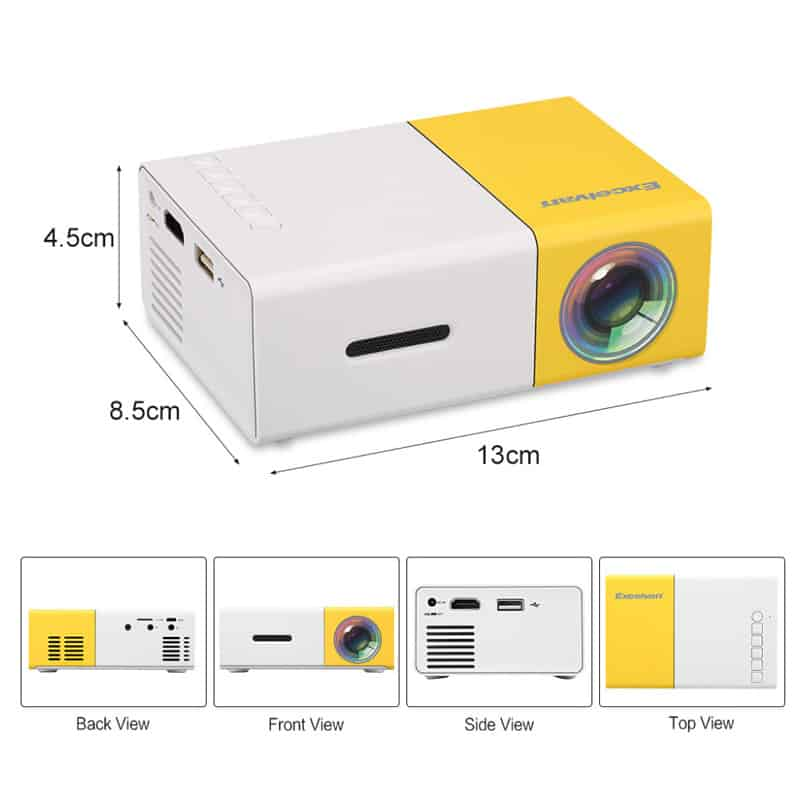 Máy chiếu mini YG300 Smart LED