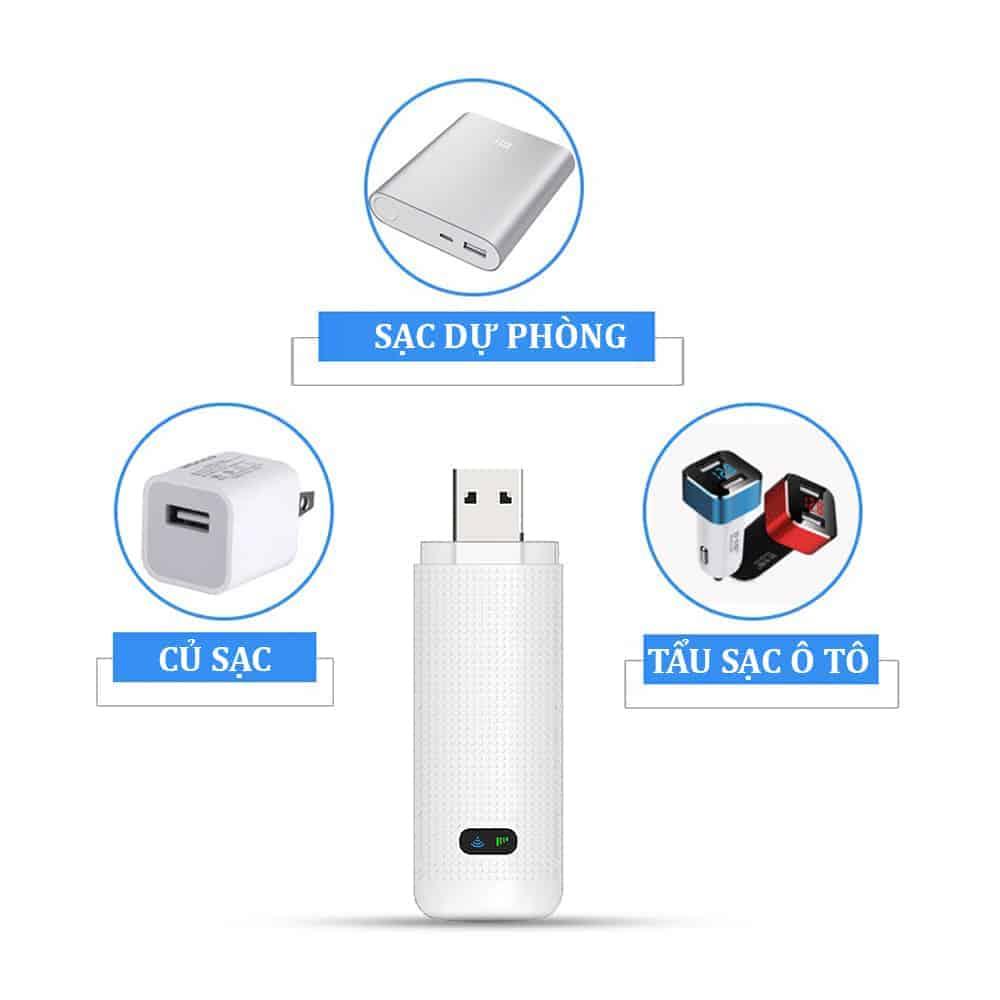 Thiết kế để sử dụng đa dạng của USB Wifi 4G