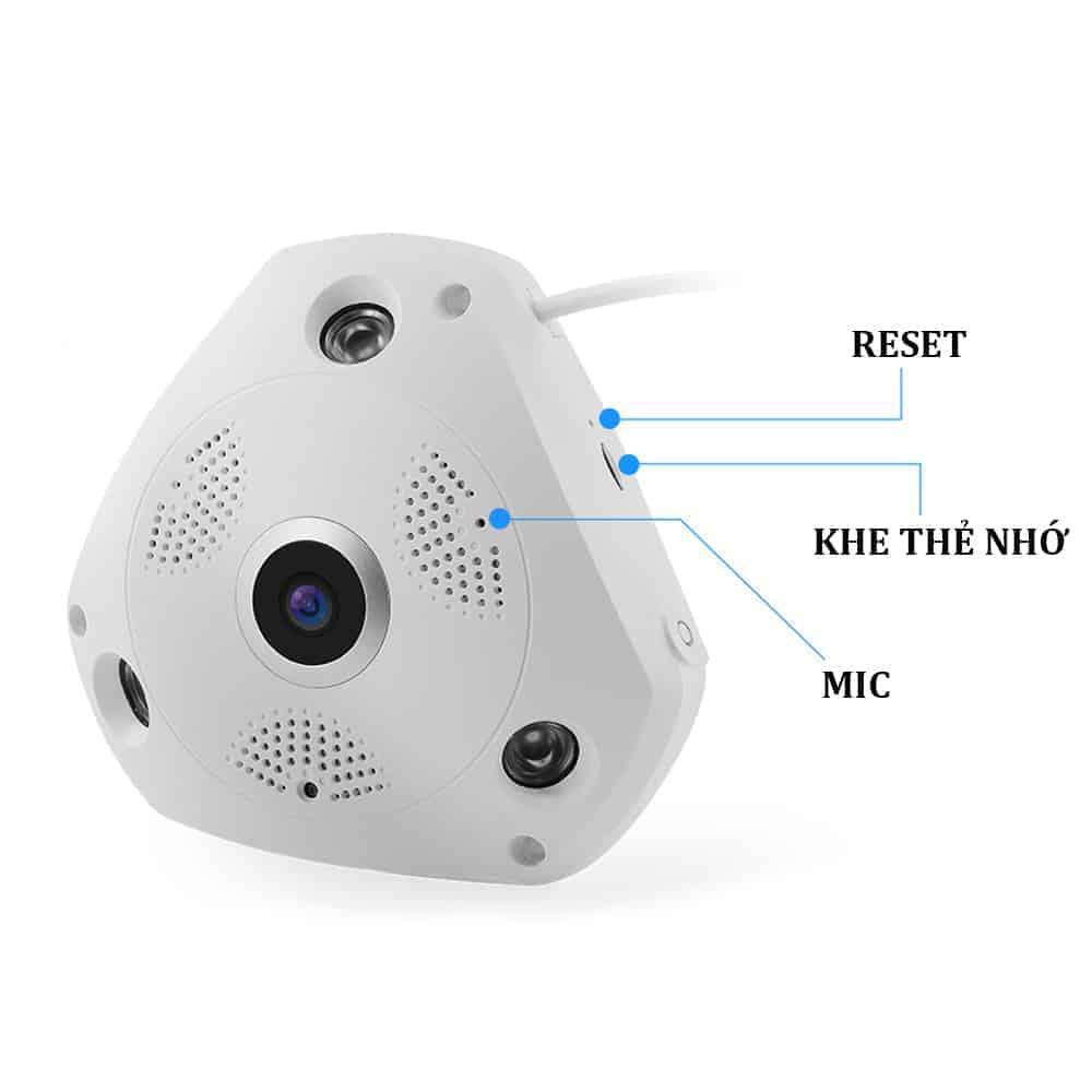 Camera Ốp Trần, Tường Wifi Yoosee VR370 – Camera Giám Sát Thế Hệ Mới 6