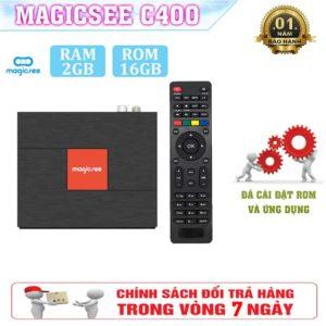Tivi Box Magicsee C400 – Trải Nghiệm Sống Động Trước Màn Ảnh Nhỏ